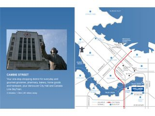 """Photo 11: 404 388 W 1ST Avenue in Vancouver: False Creek Condo for sale in """"THE EXCHANGE"""" (Vancouver West)  : MLS®# V1028659"""
