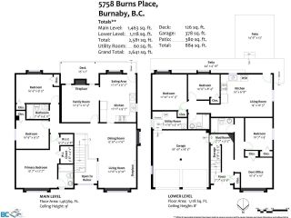 Photo 12: 5758 BURNS Place in Burnaby: Upper Deer Lake House for sale (Burnaby South)  : MLS®# R2618055
