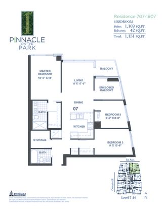 """Photo 24: 1207 1708 ONTARIO Street in Vancouver: Mount Pleasant VE Condo for sale in """"PINNACLE ON THE PARK"""" (Vancouver East)  : MLS®# R2599335"""