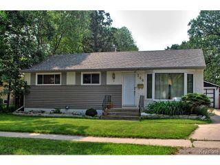 Photo 1: 144 Moore Avenue in WINNIPEG: St Vital Residential for sale (South East Winnipeg)  : MLS®# 1421829