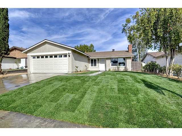 Main Photo: MIRA MESA House for sale : 3 bedrooms : 9076 Kirby Court in San Diego