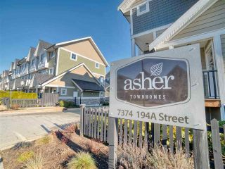 """Photo 2: 7 7374 194A Street in Surrey: Clayton Townhouse for sale in """"Asher"""" (Cloverdale)  : MLS®# R2536386"""