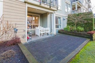 """Photo 17: 105 3895 SANDELL Street in Burnaby: Central Park BS Condo for sale in """"CLARKE HOUSE"""" (Burnaby South)  : MLS®# R2233846"""