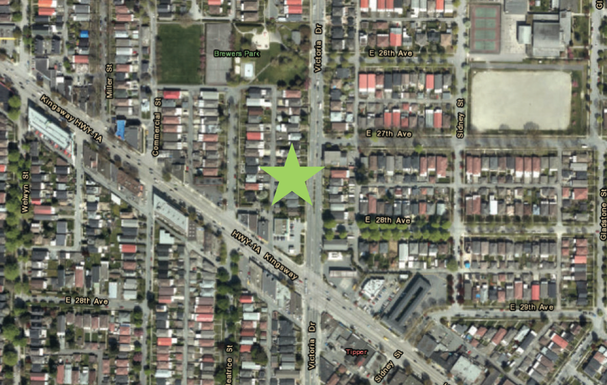 Main Photo: 4300 Victoria Drive in Vancouver: Land for sale