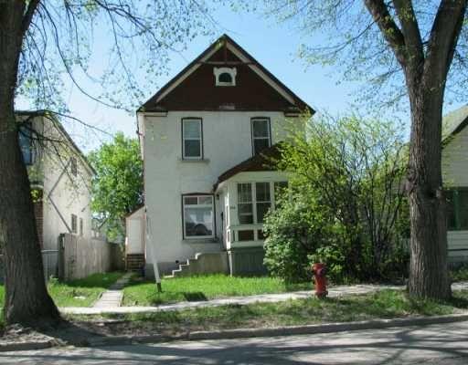 Main Photo: 376 REDWOOD Avenue in WINNIPEG: North End Single Family Detached for sale (North West Winnipeg)  : MLS®# 2703999