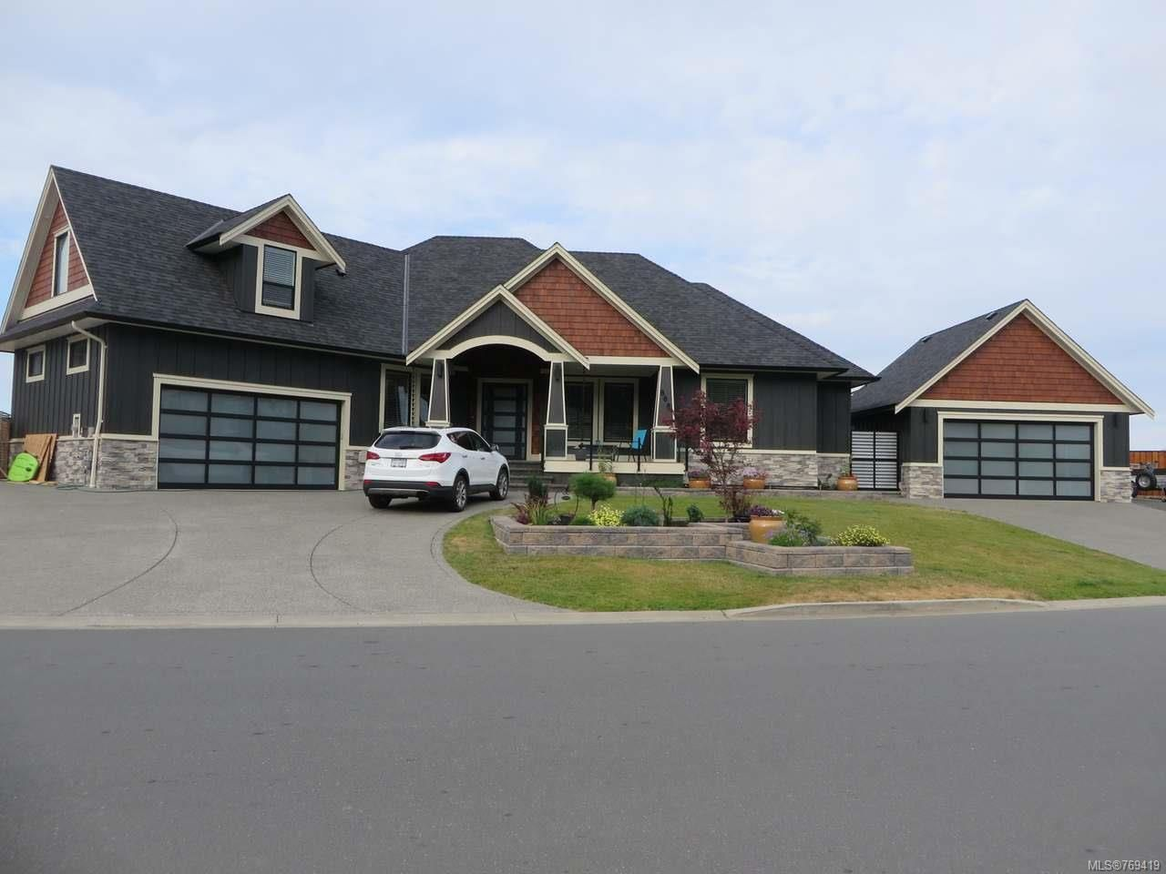 Main Photo: 808 Timberline Dr in CAMPBELL RIVER: CR Willow Point House for sale (Campbell River)  : MLS®# 769419