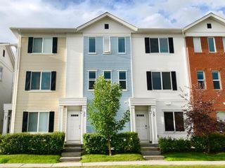 Main Photo: 35 Silverado Way SW in Calgary: Silverado Row/Townhouse for sale : MLS®# A1149168