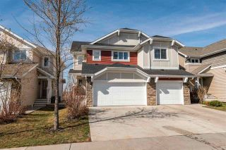 Photo 1: 2395 Sparrow Crescent in Edmonton: Zone 59 House Half Duplex for sale : MLS®# E4241966