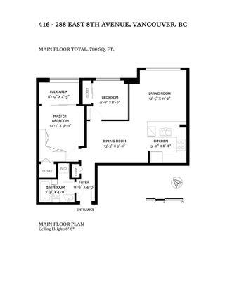 """Photo 25: 416 288 E 8TH Avenue in Vancouver: Mount Pleasant VE Condo for sale in """"METROVISTA"""" (Vancouver East)  : MLS®# R2507870"""