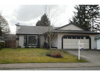 "Photo 1: 32296 SLOCAN Drive in Abbotsford: Abbotsford West House for sale in ""Fairfield Estates"" : MLS®# F1325591"