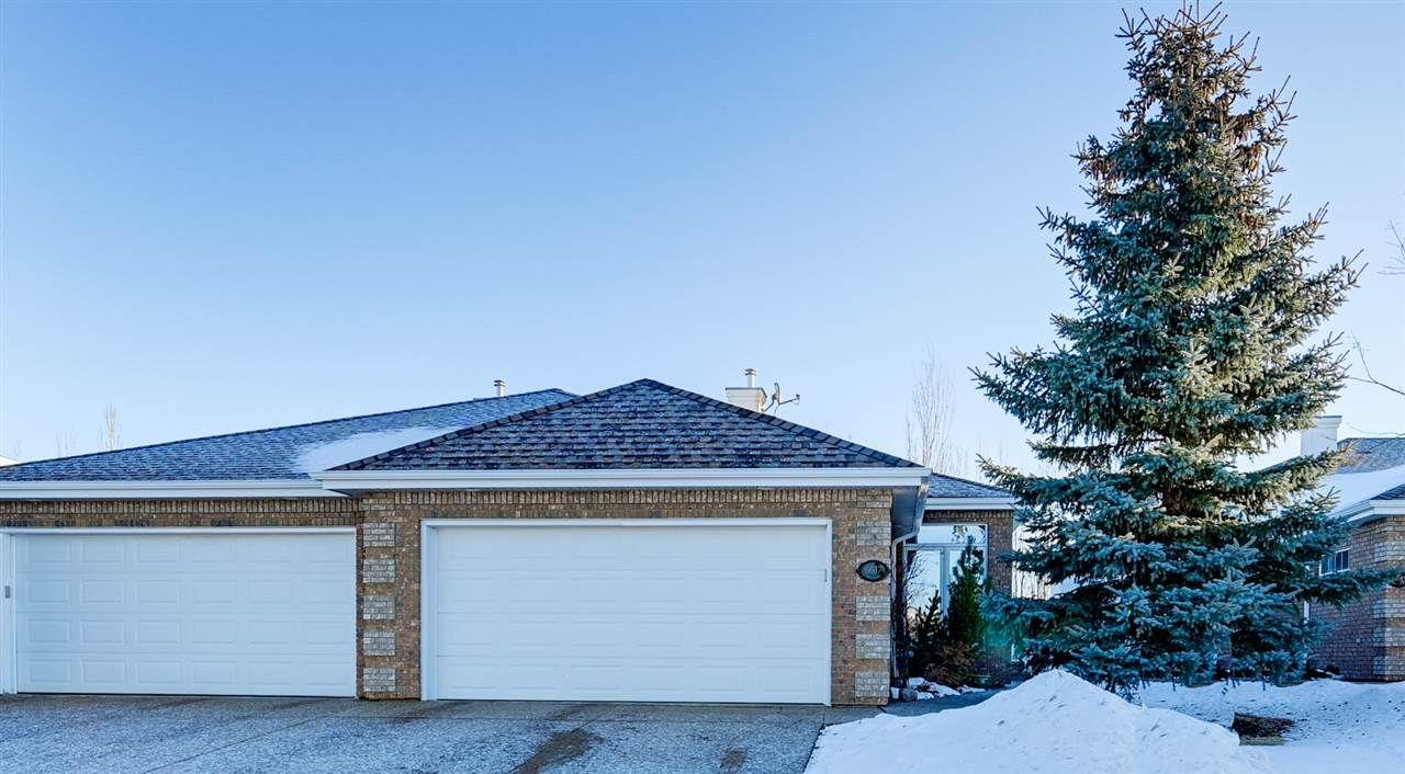 Main Photo: 6617 SANDIN Cove in Edmonton: Zone 14 House Half Duplex for sale : MLS®# E4227068