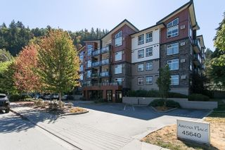 Photo 1: 311 45640 ALMA Avenue in Chilliwack: Vedder S Watson-Promontory Condo for sale (Sardis)  : MLS®# R2612759