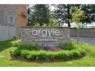 Photo 1: 43 34248 KING Road in Abbotsford: Poplar Townhouse for sale : MLS®# F1410319