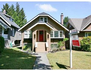 Photo 1: 3331 W 26TH Avenue in Vancouver: Dunbar House for sale (Vancouver West)  : MLS®# V723675