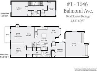 Photo 9: 1 1646 Balmoral Ave in COMOX: CV Comox (Town of) Row/Townhouse for sale (Comox Valley)  : MLS®# 813607
