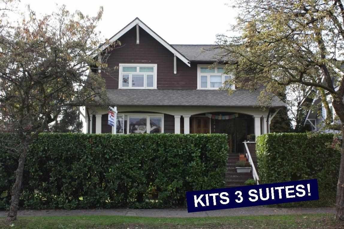 Main Photo: 2239 BLENHEIM STREET in : Kitsilano House for sale : MLS®# R2007602