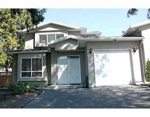 Main Photo: 6095 HALIFAX Street in Burnaby: Parkcrest 1/2 Duplex for sale (Burnaby North)  : MLS®# V624735