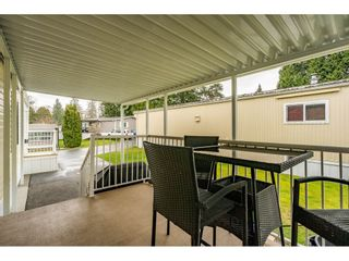 """Photo 23: 186 7790 KING GEORGE Boulevard in Surrey: East Newton Manufactured Home for sale in """"Crispen Bays"""" : MLS®# R2560382"""