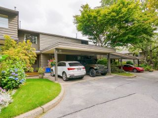 """Main Photo: 75 1930 CEDAR VILLAGE Crescent in North Vancouver: Westlynn Townhouse for sale in """"Mountain Estates"""" : MLS®# R2601766"""