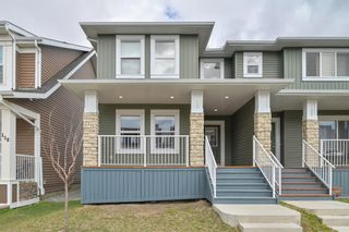Photo 2: 162 REDSTONE Drive in Calgary: Redstone Semi Detached for sale : MLS®# A1102876