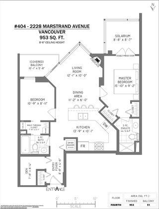 Photo 20: 404 2228 MARSTRAND AVENUE in Vancouver: Kitsilano Condo for sale (Vancouver West)  : MLS®# R2606691