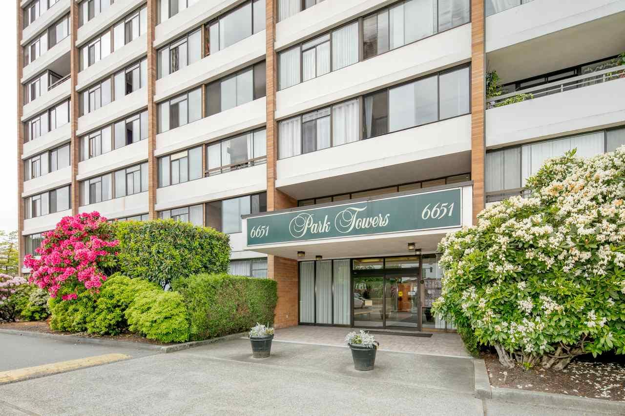 """Main Photo: 301 6651 MINORU Boulevard in Richmond: Brighouse Condo for sale in """"PARK TOWERS"""" : MLS®# R2310481"""