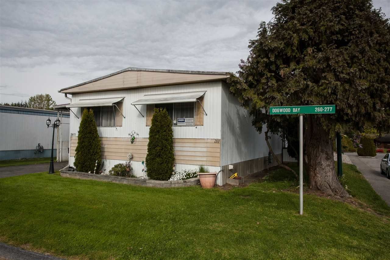 """Main Photo: 260 1840 160TH Street in Surrey: King George Corridor Manufactured Home for sale in """"Breakaway Bays"""" (South Surrey White Rock)  : MLS®# R2176402"""