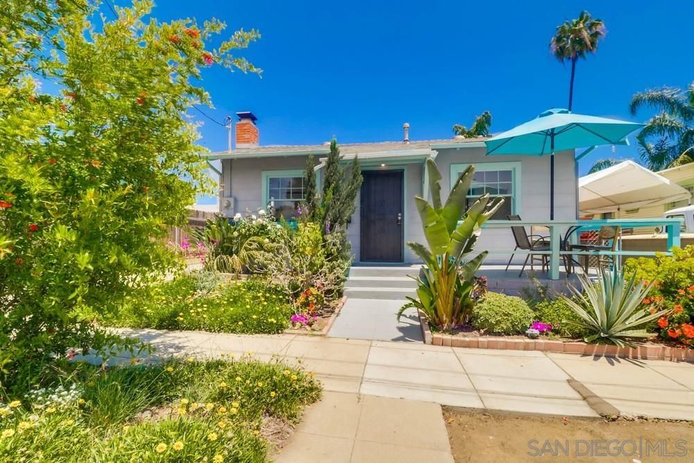 Main Photo: NORMAL HEIGHTS House for sale : 2 bedrooms : 3612 Copley Ave in San Diego