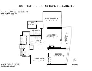 Photo 18: 1201 5611 GORING STREET in Burnaby: Central BN Condo for sale (Burnaby North)  : MLS®# R2431529