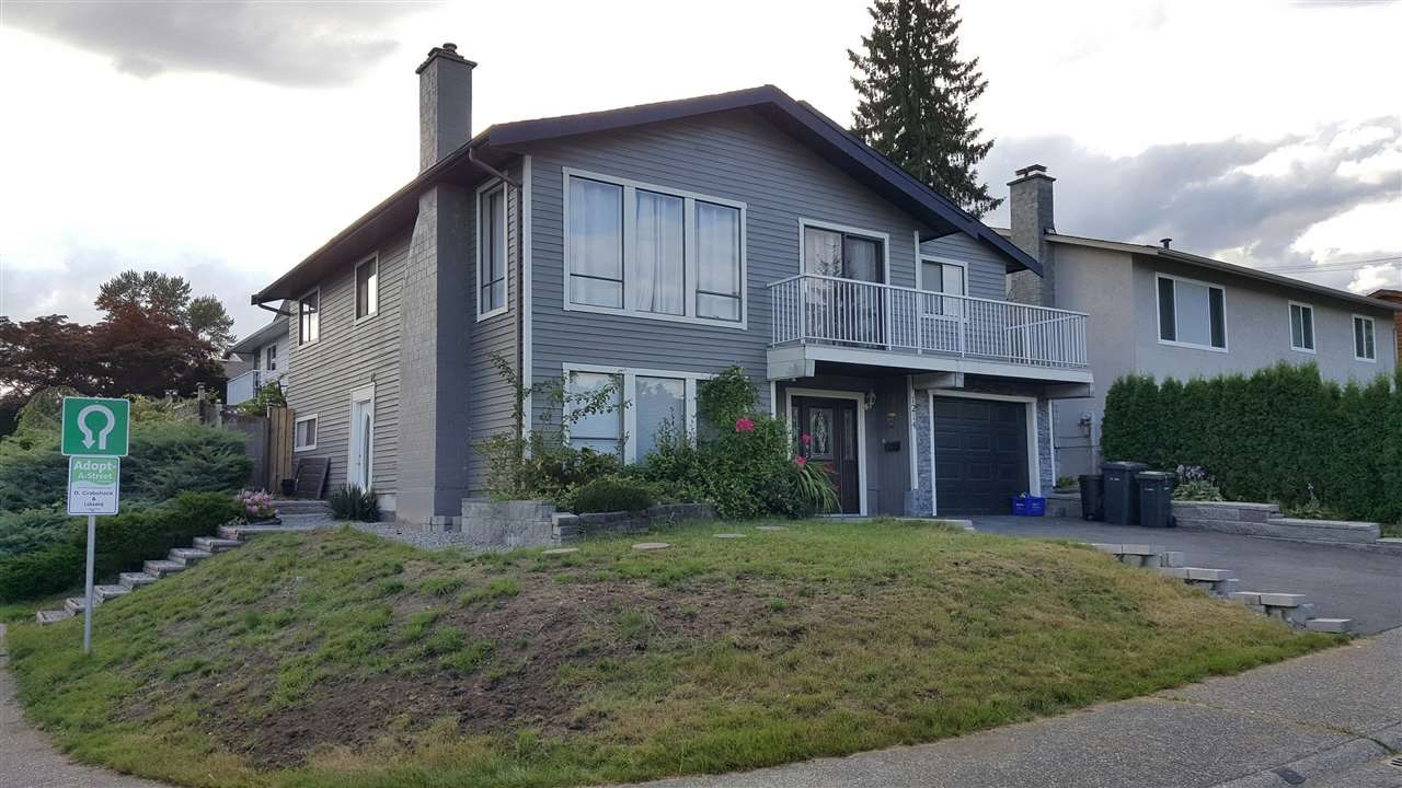 Main Photo: 1214 TEXADA Street in Coquitlam: New Horizons House for sale : MLS®# R2218317