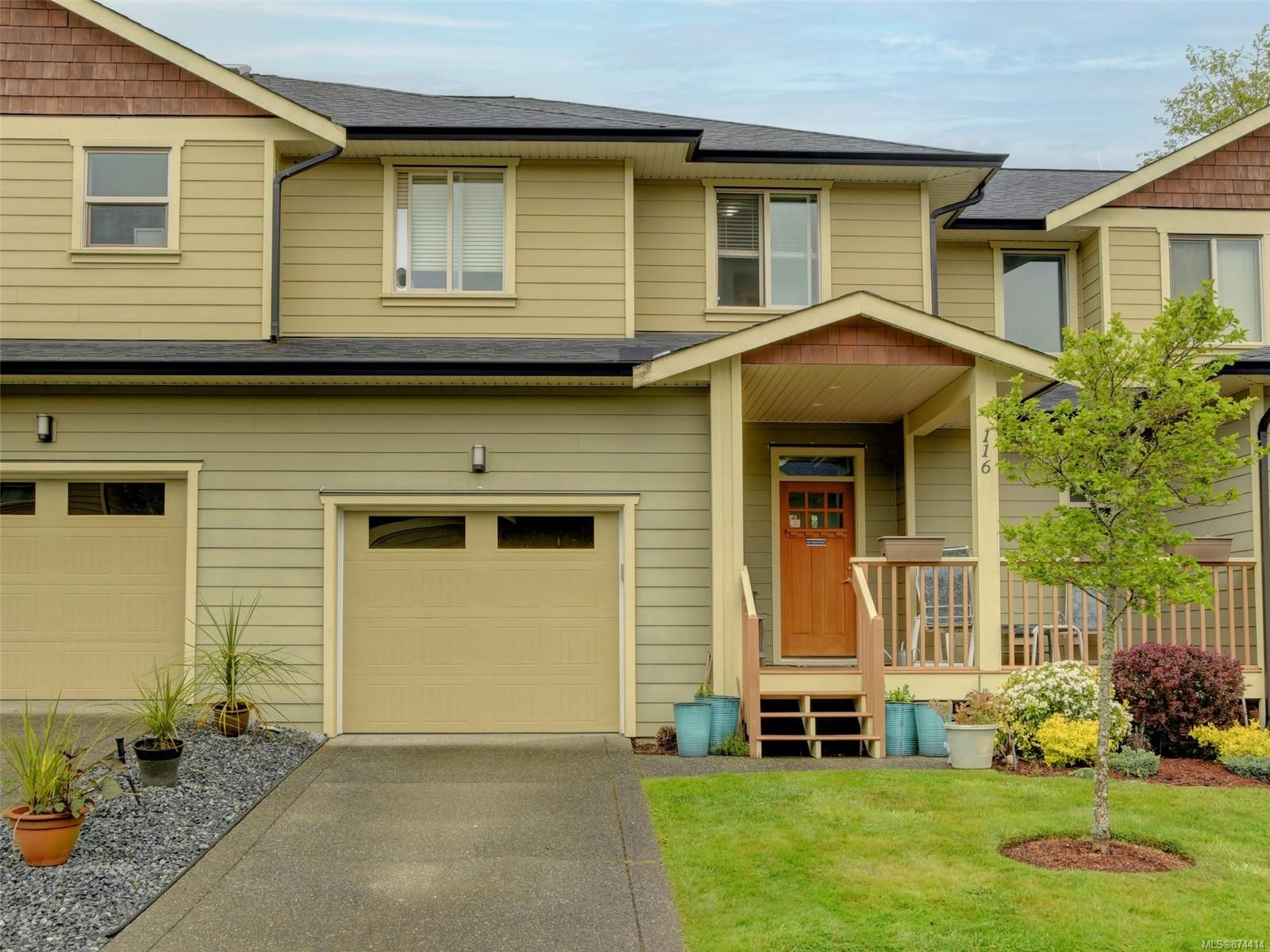 Main Photo: 116 2253 Townsend Rd in : Sk Broomhill Row/Townhouse for sale (Sooke)  : MLS®# 874414