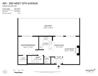 """Photo 22: PH 401 2181 W 12TH Avenue in Vancouver: Kitsilano Condo for sale in """"THE CARLINGS"""" (Vancouver West)  : MLS®# R2516161"""