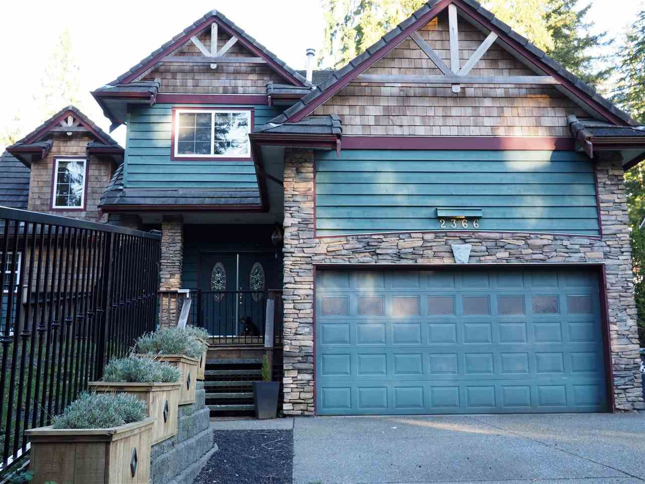 Main Photo: 2366 SUNNYSIDE Road: Anmore House for sale (Port Moody)  : MLS®# R2159024