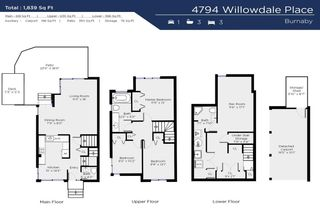 """Photo 27: 4794 WILLOWDALE Place in Burnaby: Greentree Village Townhouse for sale in """"Greentree Village"""" (Burnaby South)  : MLS®# R2590442"""