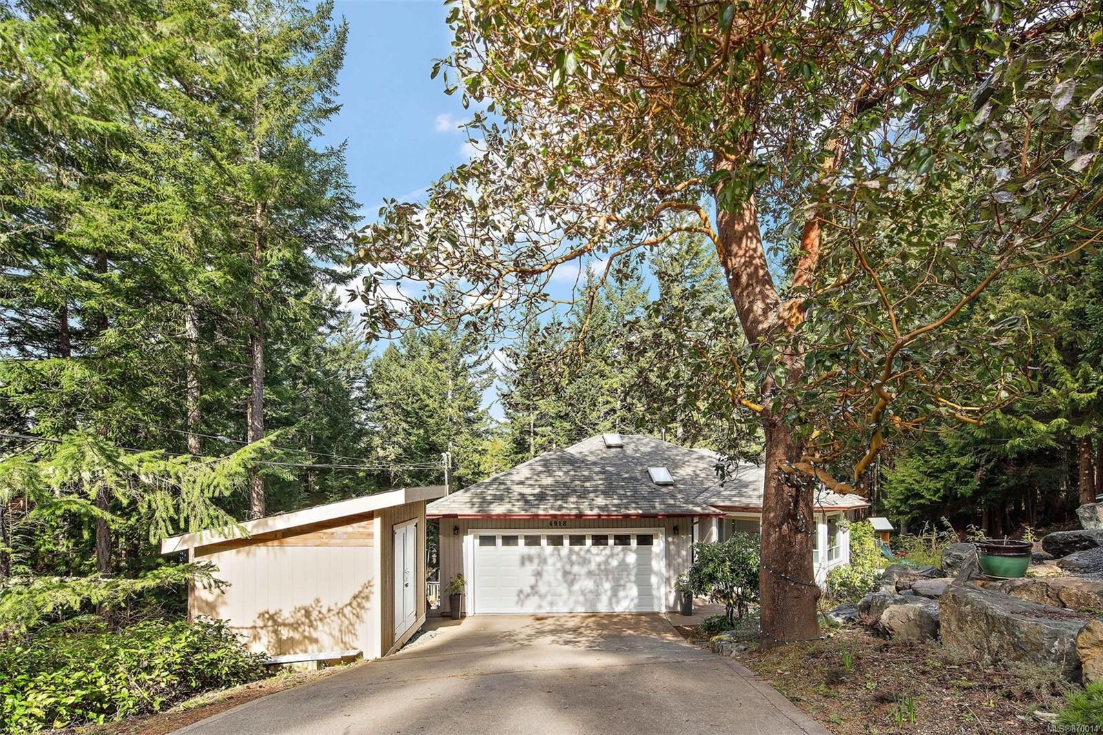 Main Photo: 4918 Mt. Matheson Rd in : Sk East Sooke House for sale (Sooke)  : MLS®# 870014