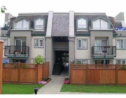 "Main Photo: 217 BEGIN Street in Coquitlam: Maillardville Townhouse for sale in ""PLACE FONTAINE BLEAU"" : MLS®# V626410"