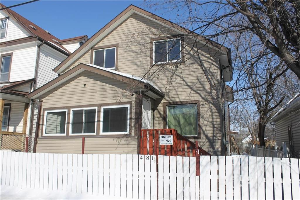 Main Photo: 481 Magnus Avenue in Winnipeg: North End Residential for sale (4A)  : MLS®# 202116019