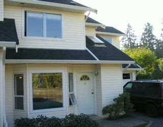 """Main Photo: 11588 232ND Street in Maple Ridge: Cottonwood MR Townhouse for sale in """"COTTONWOOD VILLAGE"""" : MLS®# V616880"""