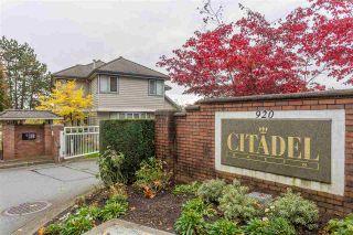 "Photo 1: 26 920 CITADEL Drive in Port Coquitlam: Citadel PQ Townhouse for sale in ""CITADEL GREEN"" : MLS®# R2416046"
