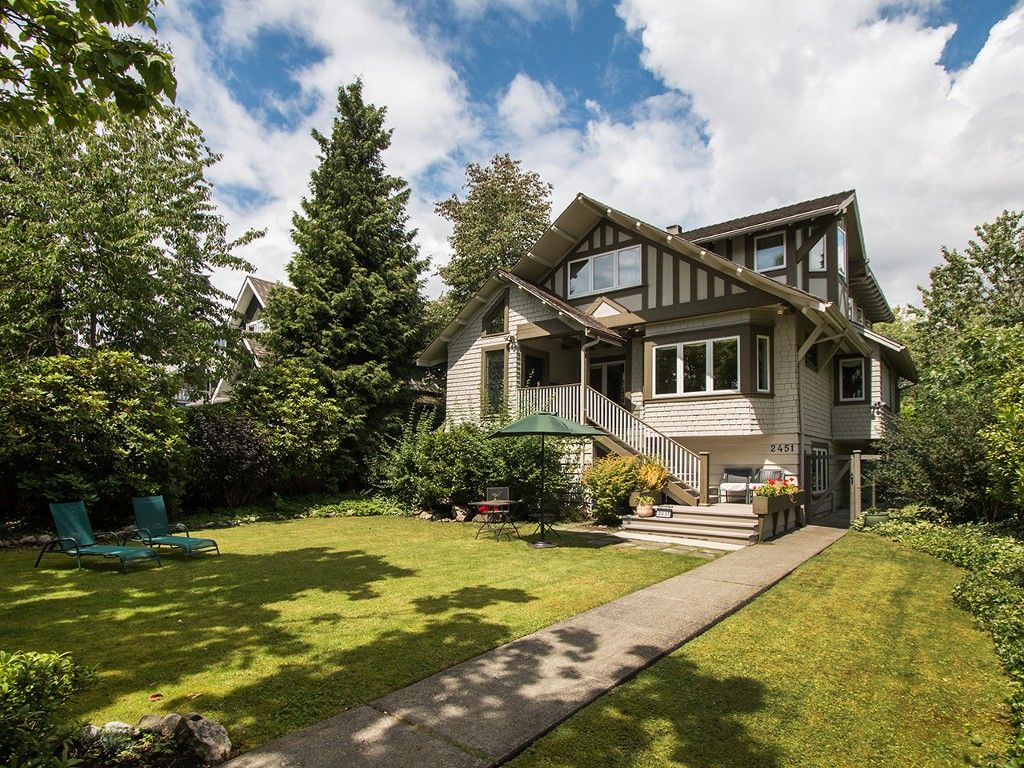 Main Photo: 2451 W 37 Avenue in Vancouver: Quilchena House for sale (Vancouver West)