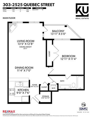 """Photo 35: 303 2525 QUEBEC Street in Vancouver: Mount Pleasant VE Condo for sale in """"The Cornerstone"""" (Vancouver East)  : MLS®# R2576101"""