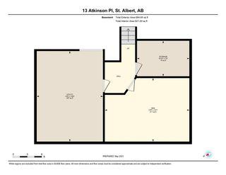 Photo 50: 13 Atkinson Place: St. Albert House for sale : MLS®# E4243702