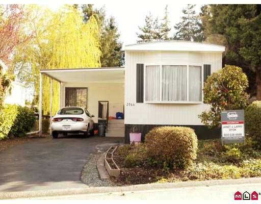 """Main Photo: 2064 CUMBRIA Drive in White_Rock: King George Corridor Manufactured Home for sale in """"CRANLEY PLACE"""" (South Surrey White Rock)  : MLS®# F2707458"""