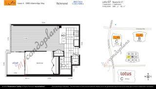 "Photo 2: 1007 6888 ALDERBRIDGE Way in Richmond: Brighouse Condo for sale in ""FLO"" : MLS®# R2249372"