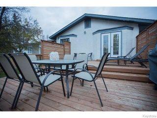 Photo 16: 8 Chokecherry Cove in WINNIPEG: St Vital Residential for sale (South East Winnipeg)  : MLS®# 1527645
