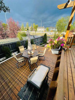 Photo 34: 21 6304 SANDIN Way in Edmonton: Zone 14 House Half Duplex for sale : MLS®# E4261480