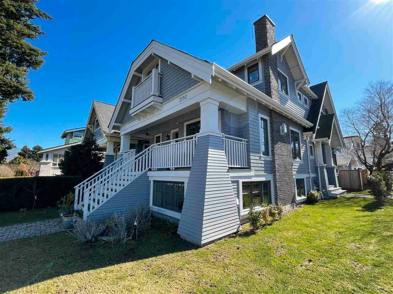 Main Photo: 3192 W 3RD Avenue in Vancouver: Kitsilano 1/2 Duplex for sale (Vancouver West)  : MLS®# R2551826