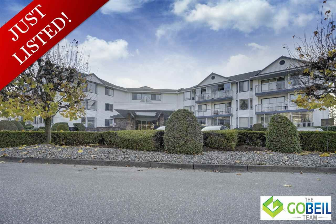 "Main Photo: 303 2425 CHURCH Street in Abbotsford: Abbotsford West Condo for sale in ""Parkview Place"" : MLS®# R2418126"