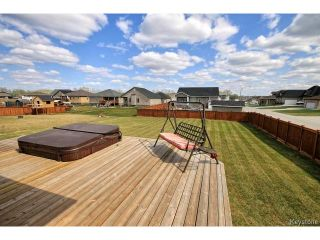 Photo 19: 1 Convent Crescent in Lorette: Residential for sale : MLS®# 1512671