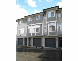 """Photo 1: 48 1010 EWEN Avenue in New_Westminster: Queensborough Townhouse for sale in """"WINDSOR MEWS"""" (New Westminster)  : MLS®# V674759"""